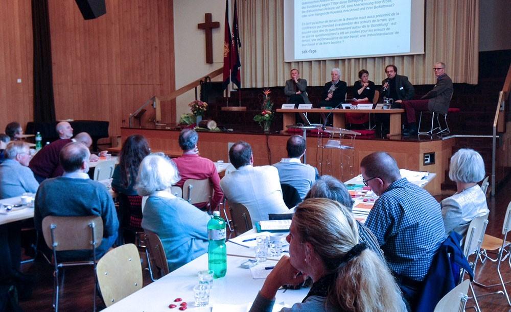 Diakoniekonferenz: Abschied und Neuanfang