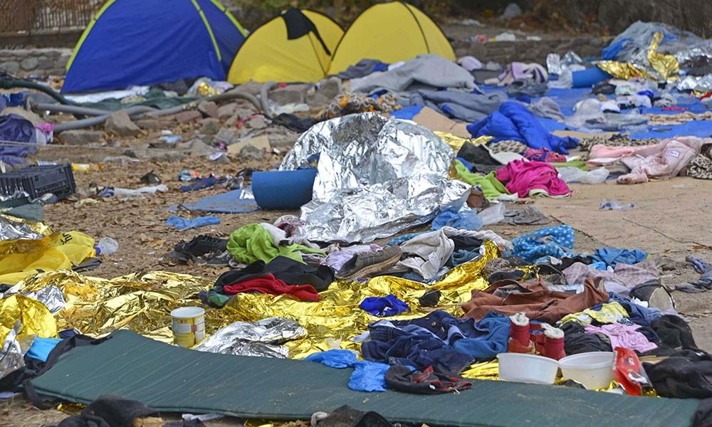 D: Flüchtlingsalltag in griechischen Hotspots