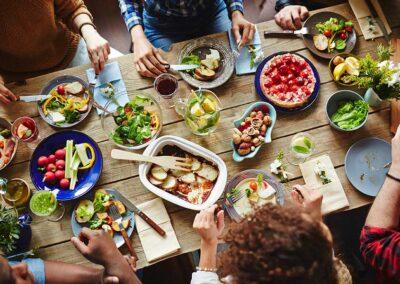 Projekt: Zusammen essen - zusammen sein
