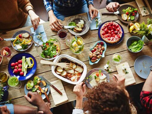 Projekt: Zusammen essen – zusammen sein