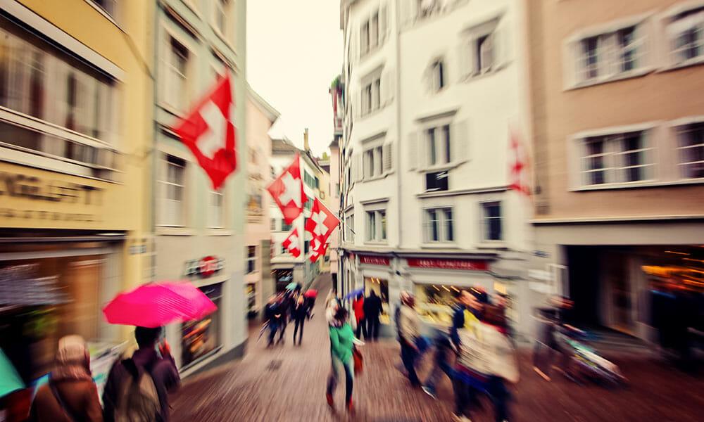 20 Prozent weniger Asylgesuche in der Schweiz
