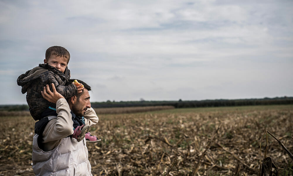 CH: HEKS und Flüchtlingshilfe fordern sichere Zugangswege für 10'000 Flüchtlinge