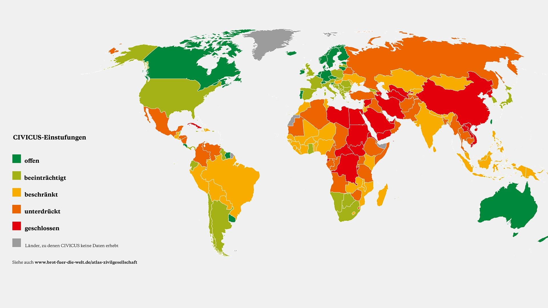 Zivilgesellschaft unter Druck