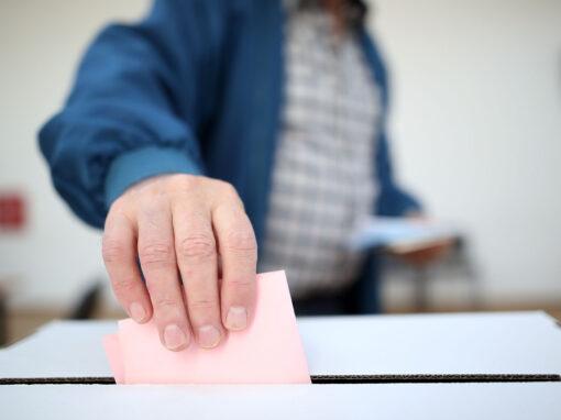 Material: Wahlhilfe in leichter Sprache
