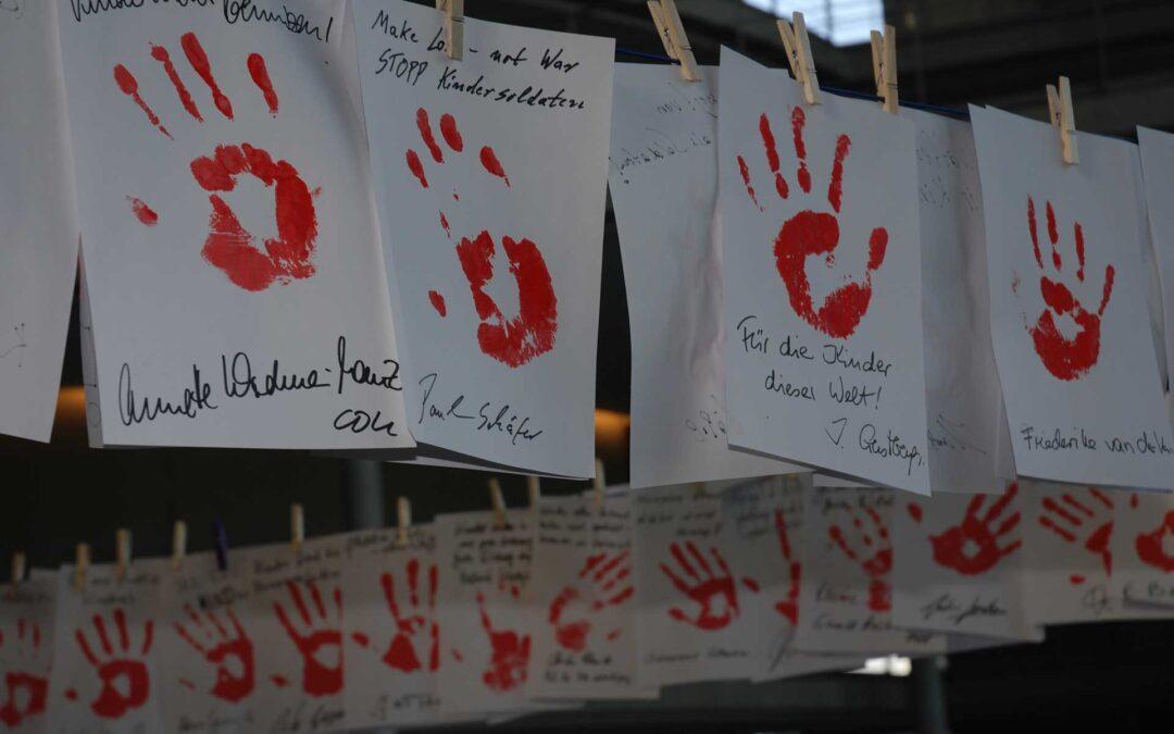 Weltweiter Aktionstag gegen den Einsatz von Kindersoldaten am 12.2.
