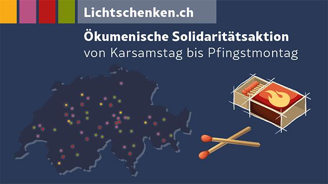 Corona: Schweizer Kirchen begründen digitales Lichtermeer der Solidarität